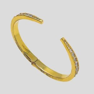 NWOT Melinda Maria Claw Cuff Bracelet Diamondettes